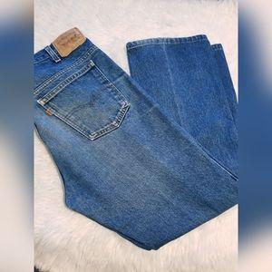 Mens Vintage Orange Tab Levi Jeans